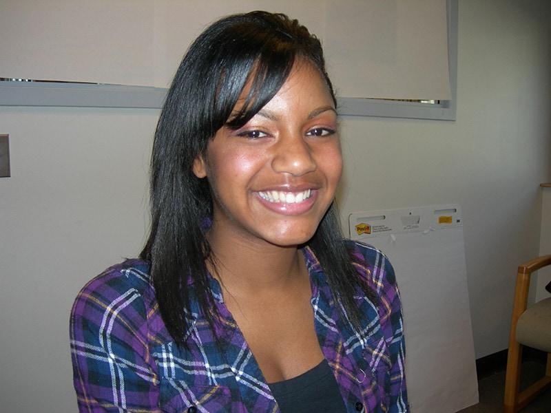 Ebonee Davis 2009