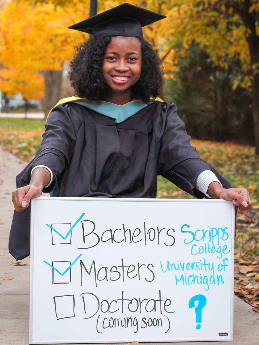 Marie Angeles 2016 Master's Degree