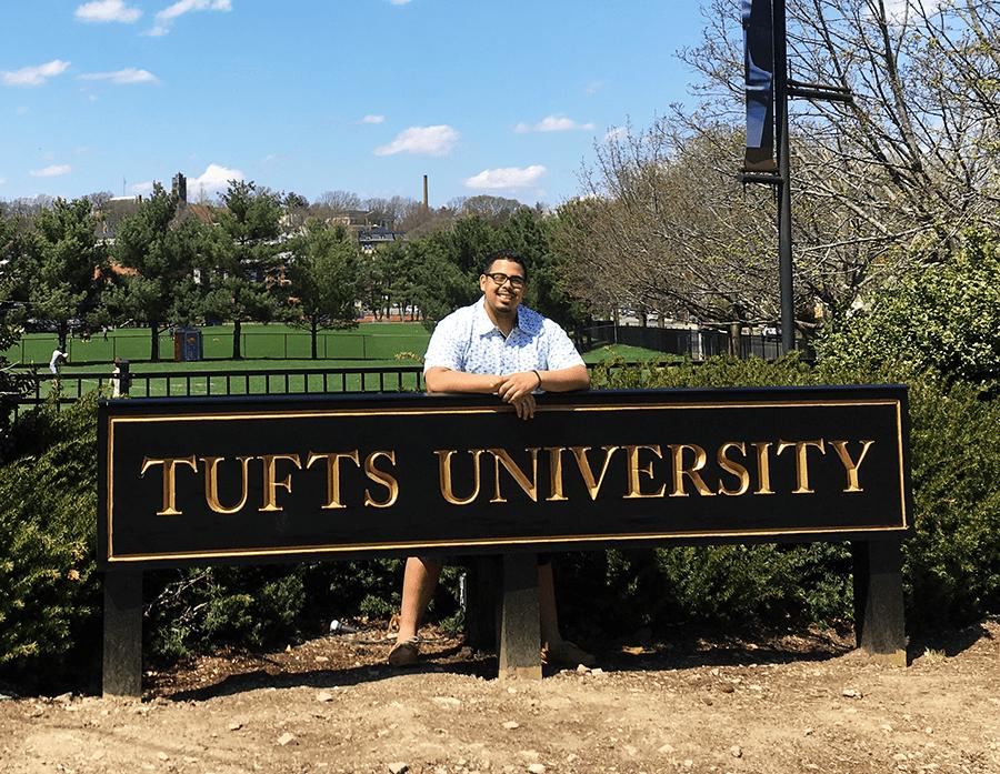 Nigel at Tufts University