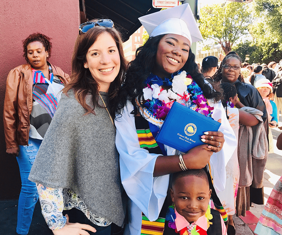 Dee's Graduation