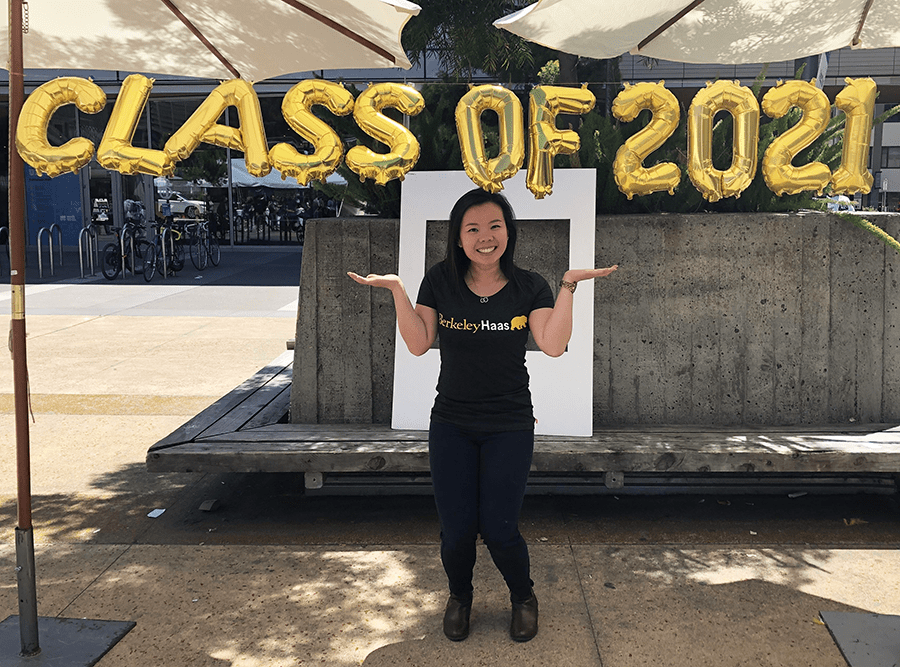 Priscilla was accepted to the UC Berkeley Haas School of Business