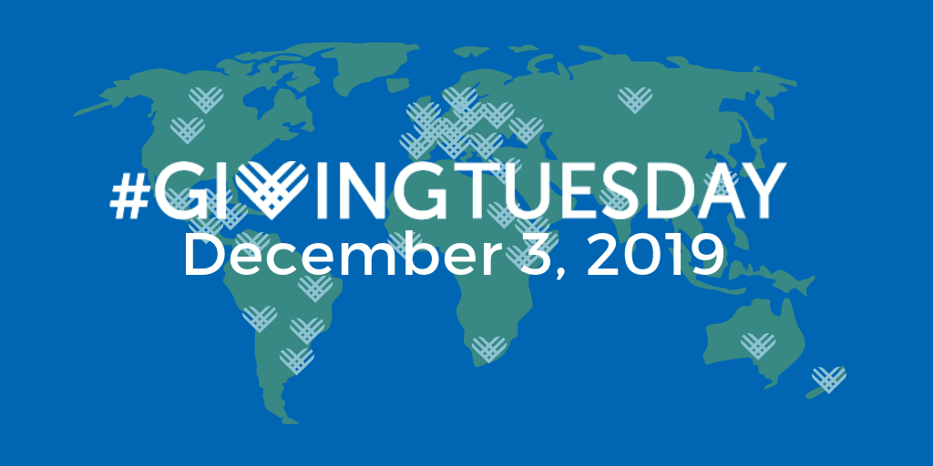 Giving Tuesday - December 3, 2019