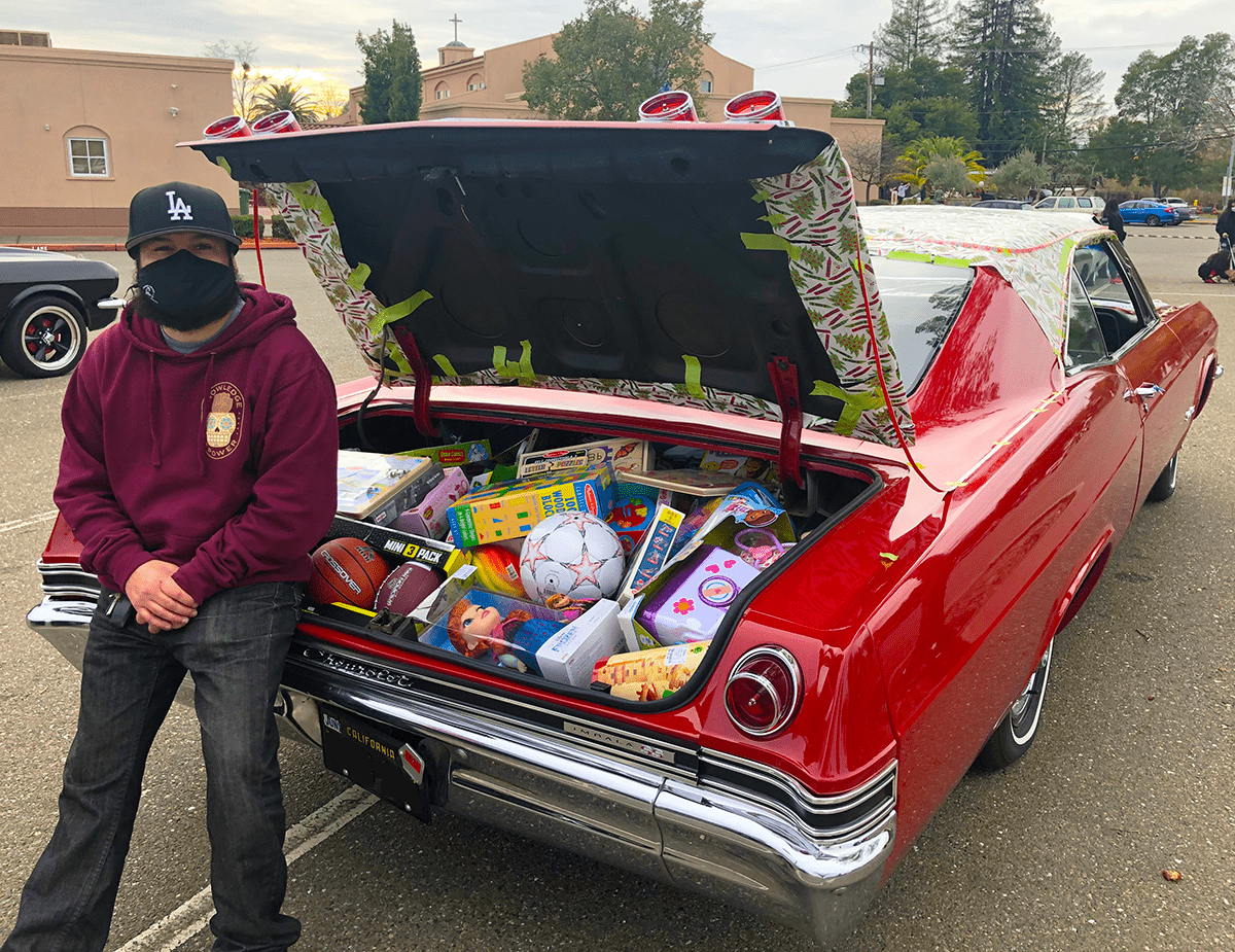 Chano's Full Trunk of Toys