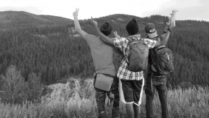 Wilderness Group Black & White